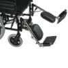 Opcion de apoya-pies desmontable elevable