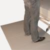 Funda antideslizante, tanto para los auxiliares como respecto al suelo.