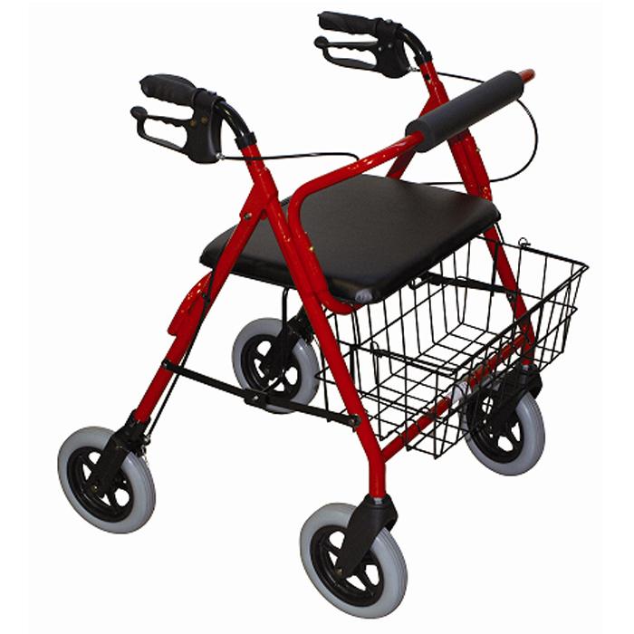 Andador con ruedas y asiento Fortissimo D42 | Obea