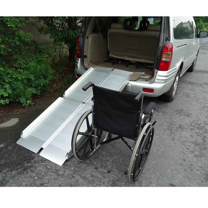 Rampas plegables en 4 707 obea - Sillas de ruedas de aluminio plegables ...