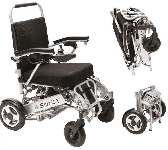 silla de ruedas electrica corolla plegable